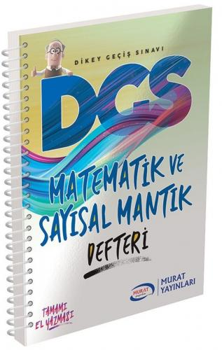 Murat Yayınları DGS Matematik ve Sayısal Mantık Defteri %40 indirimli