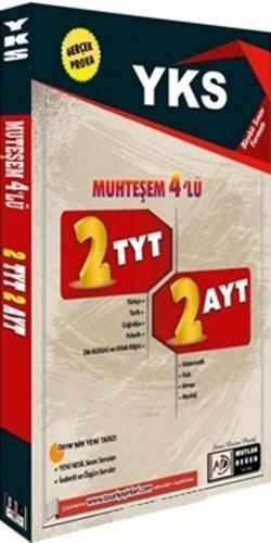 Mutlak Değer Yayınları YKS Muhteşem 4 lü 2 TYT 2 AYT Denemesi