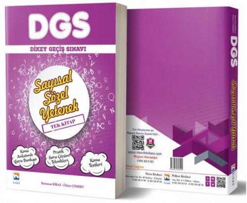 Nisan DGS Sayısal Sözel Yetenek Konu Anlatımlı Soru Bankası