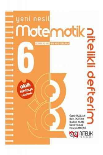 Nitelik Yayınları6. Sınıf Matematik Nitelikli Defterim Komisyon