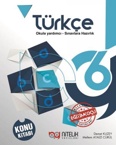 Nitelik 6. Sınıf Türkçe Konu Kitabı