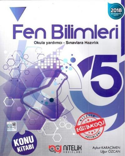 Nitelik Yayınları 5. Sınıf Fen Bilimleri Konu Kitabı Komisyon