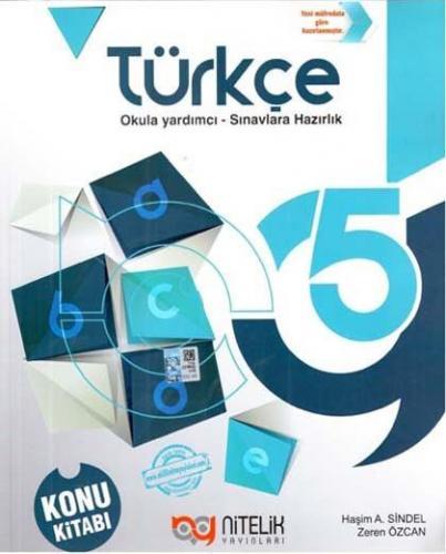 Nitelik 5. Sınıf Türkçe Konu Kitabı