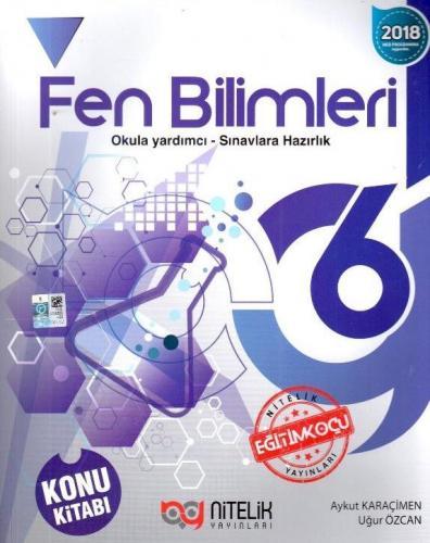 Nitelik 6. Sınıf Fen Bilimleri Konu Kitabı
