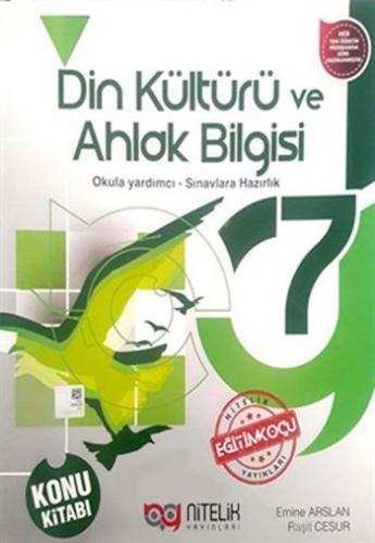 Nitelik 7. Sınıf Din Kültürü ve Ahlak Bilgisi Konu Kitabı