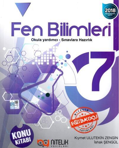 Nitelik 7. Sınıf Fen Bilimleri Konu Kitabı