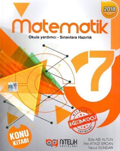 Nitelik 7. Sınıf Matematik Konu Kitabı