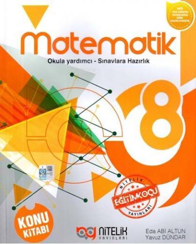 Nitelik 8. Sınıf Matematik Konu Kitabı