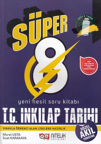 Nitelik 8. Sınıf Süper T. C. İnkılap Tarihi ve Atatürkçülük Yeni Nesil Soru Kitabı
