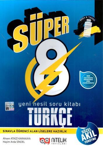 Nitelik 8. Sınıf Süper Türkçe Yeni Nesil Soru Kitabı