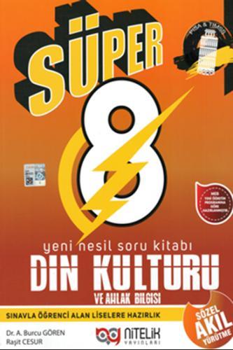 Nitelik 8. Sınıf Süper Din Kültürü ve Ahlak Bilgisi Yeni Nesil Soru Kitabı