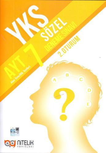 Nitelik AYT 7 Sözel Deneme Sınavı