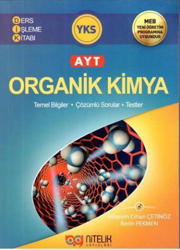 Nitelik AYT Organik Kimya Ders İşleme Kitabı