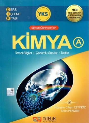 Nitelik YKS Kimya A Ders İşleme Kitabı