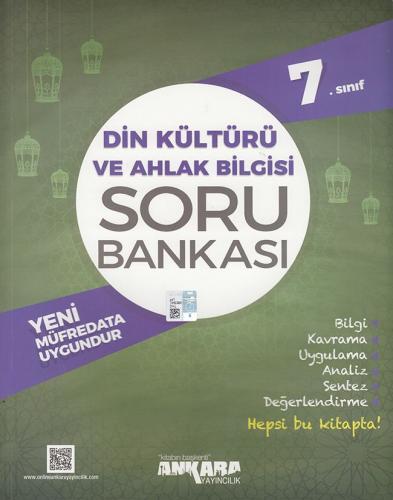 7. Sınıf Din Kültürü ve Ahlak Bilgisi Soru Bankası - Ankara Yayıncılık