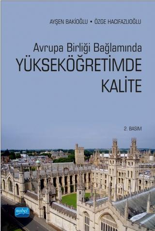 Nobel Akademi Avrupa Birliği Bağlamında Yükseköğretimde Kalite