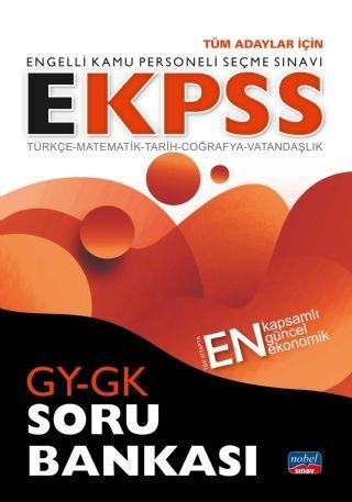 Nobel Yayınları 2020 EKPSS Tüm Adaylar İçin GY GK Soru Bankası