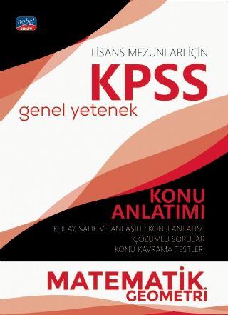 Nobel Yayınları 2020 KPSS Lisans Matematik Geometri Genel Yetenek Konu