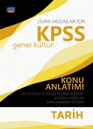 Nobel Yayınları 2020 KPSS Lisans Tarih Genel Kültür Konu Anlatımı