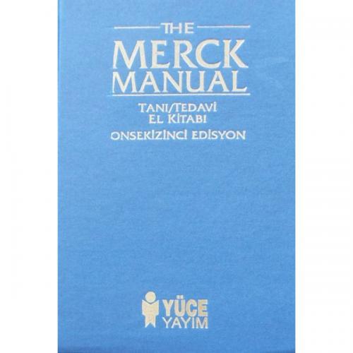 Nobel Tıp The Merck Manual Tanı Tedavi El Kitabı - Zeynep Solakoğlu