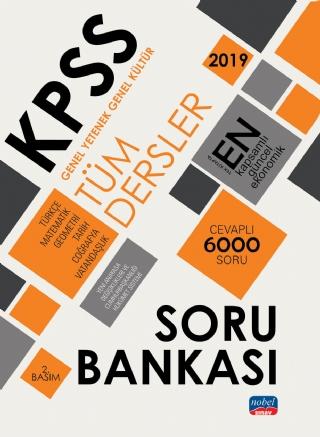 Nobel Akademi KPSS Genel Yetenek Genel Kültür Tüm Dersler Soru Bankası