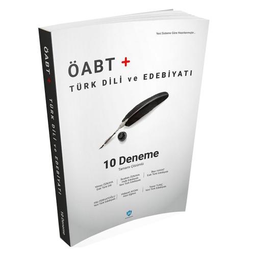 ÖABT Türk Dili ve Edebiyatı Tamamı Çözümlü 10 Deneme 2019
