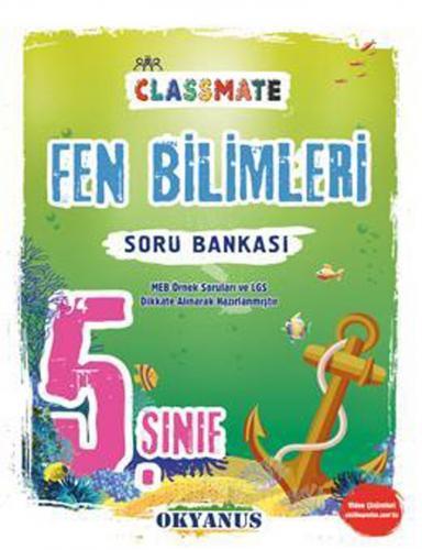 Okyanus Yayınları 5. Sınıf Fen Bilimleri Classmate Soru Bankası