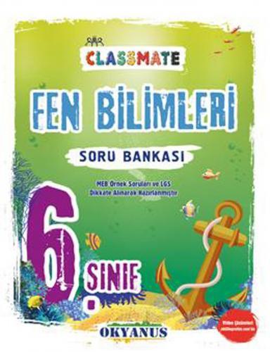 Okyanus Yayınları 6. Sınıf Fen Bilimleri Classmate Soru Bankası