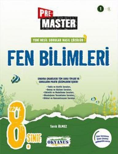 Okyanus Yayınları 8. Sınıf Fen Bilimleri Premaster Soru Bankası