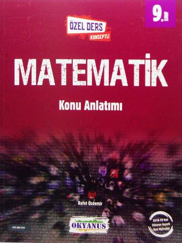 Okyanus Yayınları 9. Sinif Matematik Konu Anlatımlı Kolektif