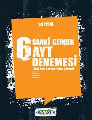 Okyanus Yayınları AYT Sayısal 6 lı Denemesi