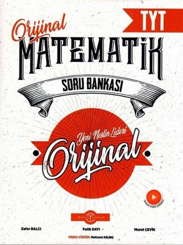 Orijinal Yayınları TYT Orijinal Matematik Soru Bankası