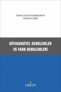Orion Diferansiyal Denklemler ve Fark Denklemleri - Ünsal Ozan Kahraman, Vildan Amil