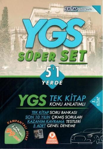 Örnek Akademi YGS 5'i 1 Yerde Süper Set