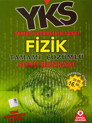 Örnek Akademi YKS TYT Fizik Tamamı Çözümlü Soru Bankası