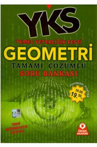 Örnek Akademi YKS TYT Geometri Tamamı Çözümlü Soru Bankası