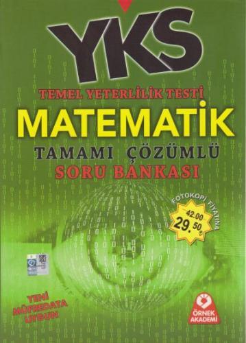 Örnek Akademi YKS TYT Matematik Tamamı Çözümlü Soru Bankası