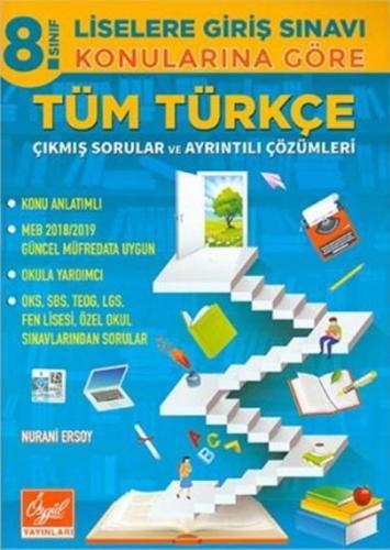 Özgül 8.Sınıf Konularına Göre Türkçe Çıkmış Sorular ve Çözümleri