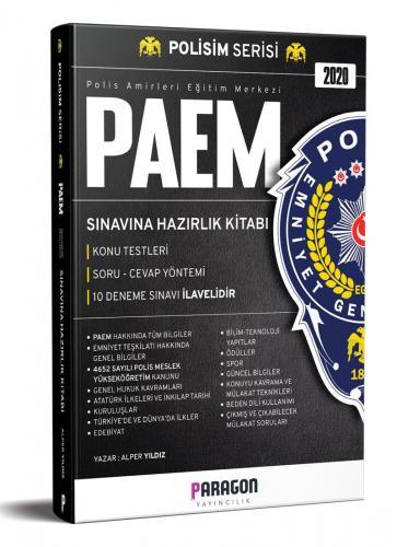 Paragon Yayıncılık 2020 PAEM Sınavına Hazırlık Kitabı-Konu Testleri-10 Deneme Sınavı