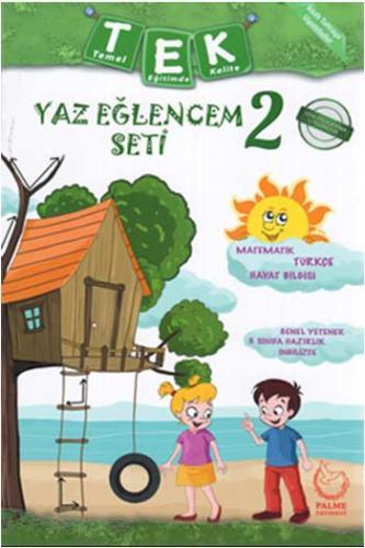 Palme Yayınları 2. Sınıf Tek Tatil Eğlencem Seti