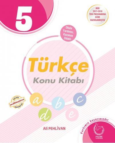 Palme 5. Sınıf Türkçe Konu Kitabı