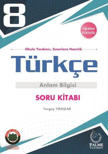 Palme 8. Sınıf Türkçe Anlam Bilgisi Soru Kitabı