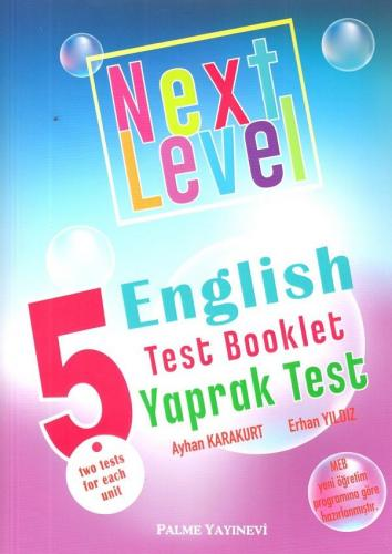 Palme 5. Sınıf Next Level English Test Booklet Yaprak Test