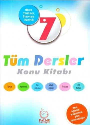 Palme 7. Sınıf Tüm Dersler Konu Kitabı