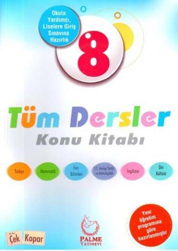 Palme 8. Sınıf Tüm Dersler Konu Kitabı