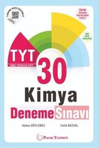 Palme Yayınları TYT Kimya 30 Deneme Sınavı %40 indirimli Komisyon