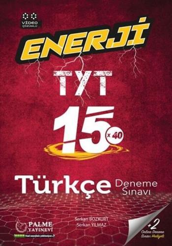 Palme Yayınları TYT Türkçe 15 Deneme Sınavı Komisyon