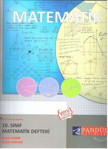 Pandül Yayınları 10. Sınıf Matematik Defteri