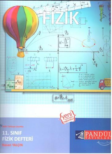 Pandül Yayınları 11. Sınıf Fizik Defteri