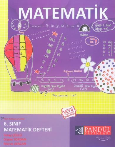 Pandül Yayınları 6. Sınıf Matematik Defteri